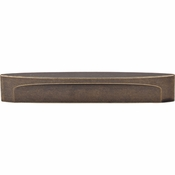 "Top Knobs - Sanctuary Collection - Oval Slot Pull 5"" (c-c) - German Bronze - TK75GBZ"
