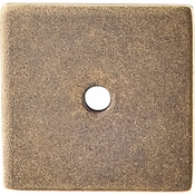 "Top Knobs - Sanctuary Collection - Square Backplate 1 1/4"" - German Bronze - TK95GBZ"