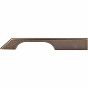 "Top Knobs - Sanctuary Collection - Tapered Bar Pull 7"" (c-c) - German Bronze - TK15GBZ"