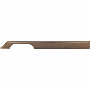 "Top Knobs - Sanctuary Collection - Tapered Bar Pull 12"" (c-c) - German Bronze - TK16GBZ"