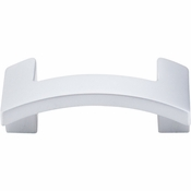 "Top Knobs - Sanctuary II Collection - Euro Arched Knob 1 3/4"" (c-c) - Aluminum - TK248ALU"