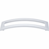 "Top Knobs - Sanctuary II Collection - Euro Arched Pull 5"" (c-c) - Aluminum - TK247ALU"