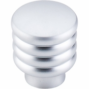 "Top Knobs - Sanctuary II Collection - Modern Deco Knob 1"" - Aluminum - TK265ALU"