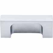 "Top Knobs - Sanctuary II Collection - Modern Metro Tab Pull 2"" (c-c) - Aluminum - TK275ALU"