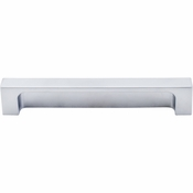 "Top Knobs - Sanctuary II Collection - Modern Metro Tab Pull 5"" (c-c) - Aluminum - TK276ALU"