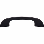 "Top Knobs - Sanctuary Collection - Curved Tidal Pull 4"" (c-c) - Flat Black - TK41BLK"