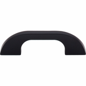 "Top Knobs - Sanctuary Collection - Neo Pull 3"" (c-c) - Flat Black - TK44BLK"