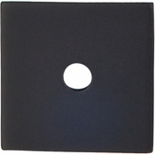 "Top Knobs - Sanctuary Collection - Square Backplate 1"" - Flat Black - TK94BLK"