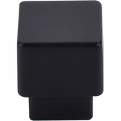 "Top Knobs - Sanctuary Collection - Tapered Knob 1"" - Flat Black - TK32BLK"