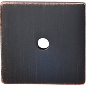 """Top Knobs - Sanctuary Collection - Square Backplate 1 1/4"""" - Tuscan Bronze - TK95TB"""