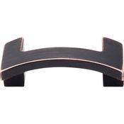 """Top Knobs - Sanctuary II Collection - Euro Arched Knob 1 3/4"""" (c-c) - Tuscan Bronze - TK248TB"""