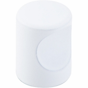 """Top Knobs - Sanctuary II Collection - Indent Knob 3/4"""" - White - M1871"""
