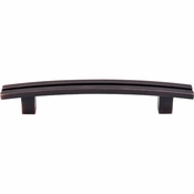 """Top Knobs - Sanctuary Collection - Inset Rail Pull 5"""" (c-c) - Tuscan Bronze - TK81TB"""