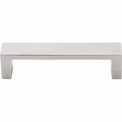 "Top Knobs - Sanctuary II Collection - Modern Metro Pull 3 3/4"" (c-c) - Brushed Stainless Steel - TK250SS"