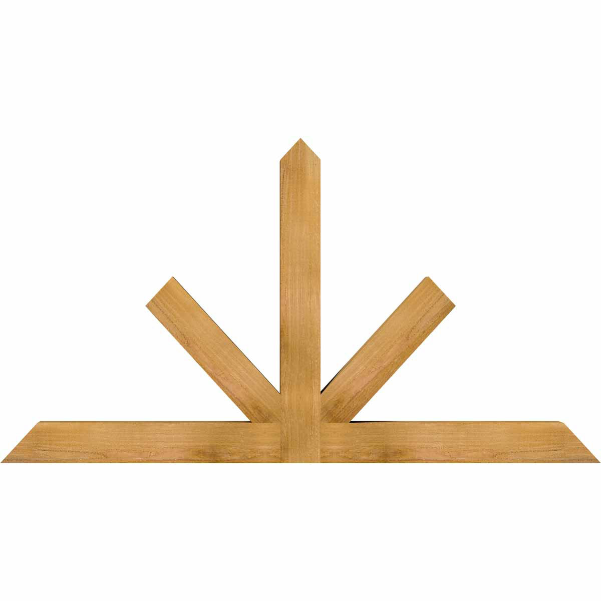 Saratoga rough sawn timber gable bracketwestern red cedar for Cedar gable brackets