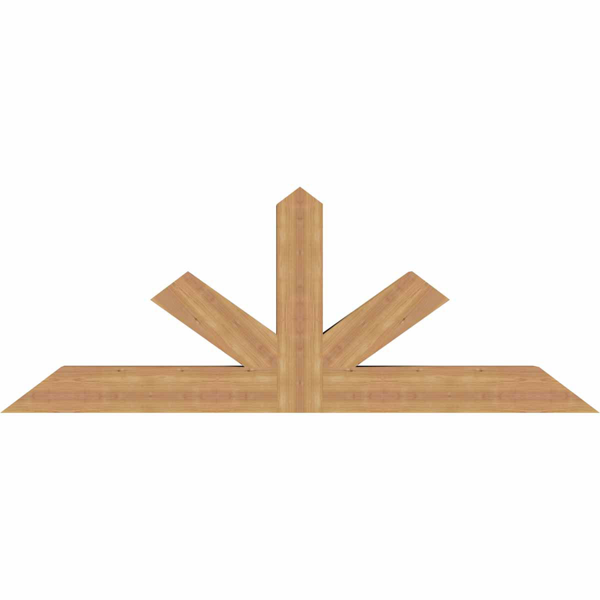 Saratoga smooth timber gable bracketwestern red cedar for Cedar gable brackets