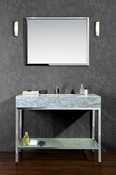 "Seacliff by Ariel Brightwater 48"" Single Sink Vanity Set"