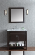 "Seacliff by Ariel Mayfield 36"" Single Sink Vanity Set in Espresso"