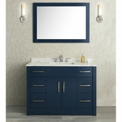 "Seacliff by Ariel Radcliff 48"" Single Sink Vanity Set in Midnight Blue"