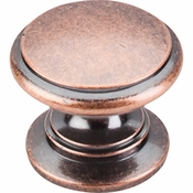 "Top Knobs - Somerset II Collection - Ray Knob 1 1/4"" - Antique Copper - M357"