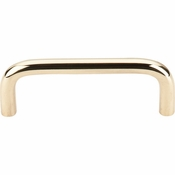 "Top Knobs - Somerset Collection - Wire Pull 3"" (c-c) - Polished Brass - M333"