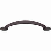 "Top Knobs - Somerset Collection - Arendal Pull 5 1/16"" (c-c) - Rust - M472"