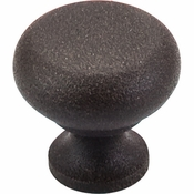 """Top Knobs - Somerset II Collection - Flat Faced Knob 1 1/4"""" - Rust - M277"""