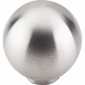 "Top Knobs - Stainless Collection - Ball Knob 1"" - Brushed Stainless Steel - SS18"