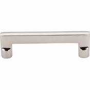"Top Knobs - Aspen II Collection - Aspen II Flat Sided Pull 4"" (c-c) - Polished Nickel - M1974"
