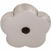 "Top Knobs - Aspen II Collection - Aspen II Flower Backplate 1"" - Brushed Satin Nickel - M2005"