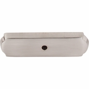 "Top Knobs - Aspen II Collection - Aspen II Rectangle Backplate 2 1/2"" - Brushed Satin Nickel - M2008"