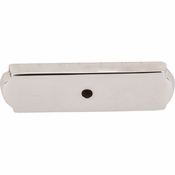 "Top Knobs - Aspen II Collection - Aspen II Rectangle Backplate 2 1/2"" - Polished Nickel - M2010"