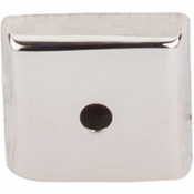 "Top Knobs - Aspen II Collection - Aspen II Square  Backplate 7/8"" - Polished Nickel - M2019"