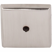 "Top Knobs - Aspen II Collection - Aspen II Square  Backplate 1 1/4"" - Brushed Satin Nickel - M2020"