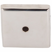 "Top Knobs - Aspen II Collection - Aspen II Square  Backplate 1 1/4"" - Polished Nickel - M2022"