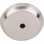 "Top Knobs - Aspen II Collection - Aspen II Round Backplate 1 1/4"" - Brushed Satin Nickel - M2026"