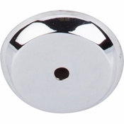 """Top Knobs - Aspen II Collection - Aspen II Round Backplate 1 1/4"""" - Polished Chrome - M2027"""