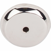 "Top Knobs - Aspen II Collection - Aspen II Round Backplate 1 1/4"" - Polished Nickel - M2028"