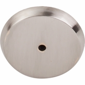 "Top Knobs - Aspen II Collection - Aspen II Round Backplate 1 3/4"" - Brushed Satin Nickel - M2029"