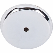 """Top Knobs - Aspen II Collection - Aspen II Round Backplate 1 3/4"""" - Polished Chrome - M2030"""