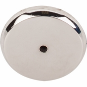 "Top Knobs - Aspen II Collection - Aspen II Round Backplate 1 3/4"" - Polished Nickel - M2031"