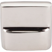 "Top Knobs - Aspen II Collection - Aspen II Flat Sided Knob 7/8"" (c-c) - Polished Nickel - M2052"