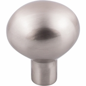 "Top Knobs - Aspen II Collection - Aspen II Large Egg Knob 1 7/16"" - Brushed Satin Nickel - M2068"