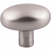 "Top Knobs - Aspen II Collection - Aspen II Small Potato Knob 1 9/16"" - Brushed Satin Nickel - M2071"