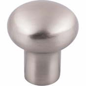 "Top Knobs - Aspen II Collection - Aspen II Round Knob 7/8"" - Brushed Satin Nickel - M2077"