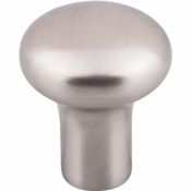 "Top Knobs - Aspen II Collection - Aspen II Round Knob 1 1/8"" - Brushed Satin Nickel - M2080"