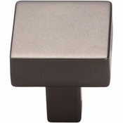 Top Knobs - Barrington Collection - Channing Backplate 3 Inch - Ash Gray - TK741AG