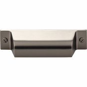 Top Knobs - Barrington Collection - Channing Cup Pull 2 3/4 Inch (c-c) - Ash Gray - TK772AG