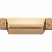 Top Knobs - Barrington Collection - Channing Cup Pull 2 3/4 Inch (c-c) - Honey Bronze - TK772HB