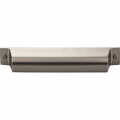 Top Knobs - Barrington Collection - Channing Cup Pull 5 Inch (c-c) - Ash Gray - TK774AG